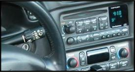 Window Valet controls stock stereo