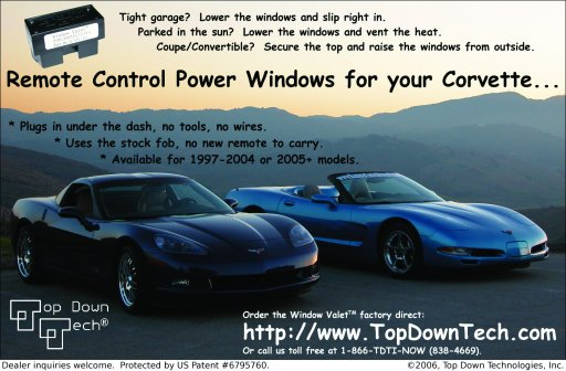 Top Down Tech's most recent print ad